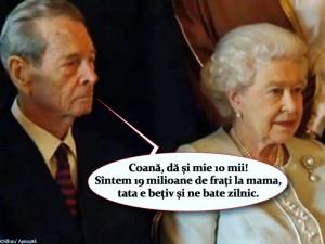 Mihai I, Elisabeta a II-a