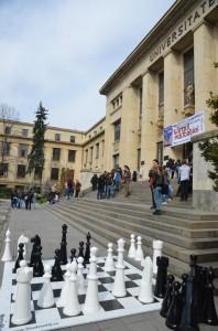 joc de sah, facultatea de drept