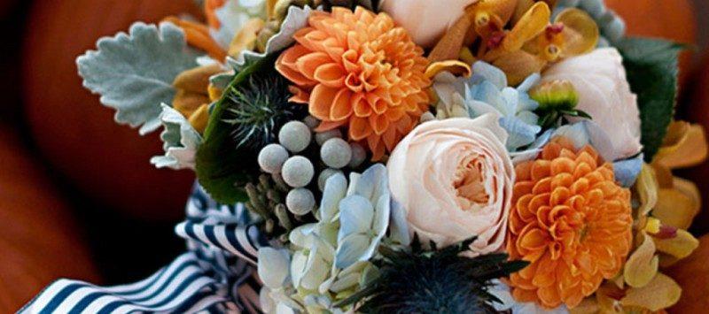 buchet flori de toamna
