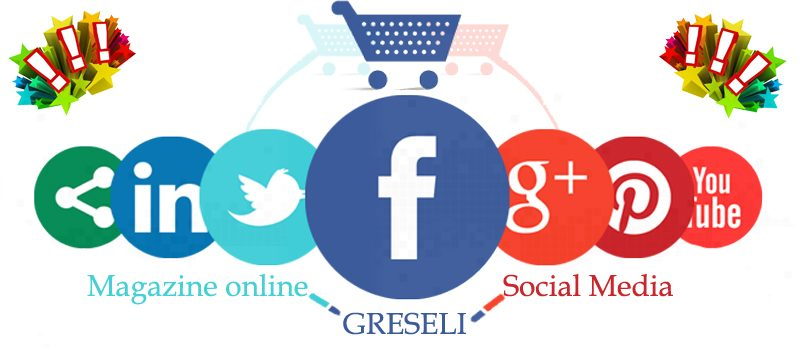greseli magazine online in social media