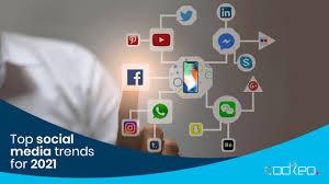Tendinte in retele sociale in 2021