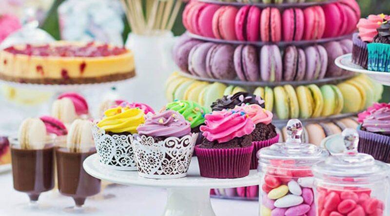 macarons candy bar